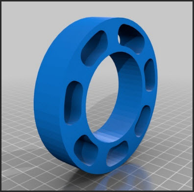 Design 2 - Spool Spacer