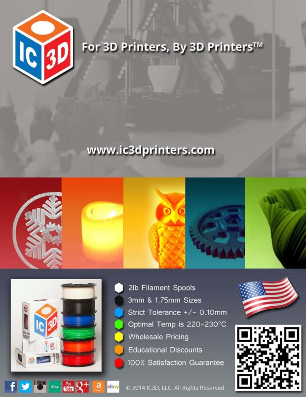 IC3D Flyer Design - Back