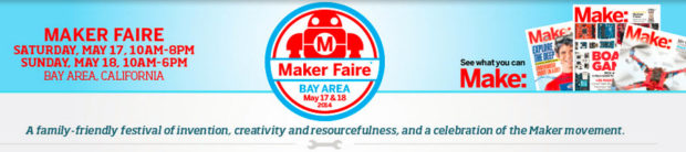 MAKER FAIRE - BAY AREA 2014